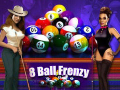 In 8 Ball Frenzy you decide your billiard strategy not the computer!