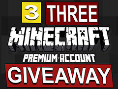 Minecraft Giveaway 2016. Get your Premium Account for Free!