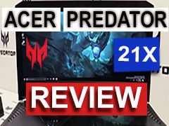 Acer Predator 21X is a heaviest and most expensive laptop ever built!