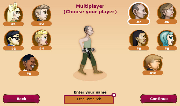 Celebrity Gunslingers Multiplayer Screenshot Freegamepick.jpg