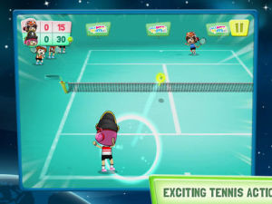 Tennis Hot Shots Galaxy screenshot
