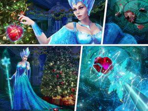 Christmas Patchwork: Frozen video