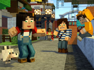 Minecraft Story Mode Season Two screenshot