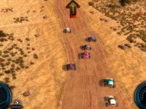 Desert Race screenshot