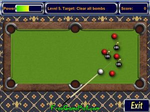 Pool Bomb screenshot