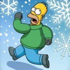 Simpson Springfield Snow Fight