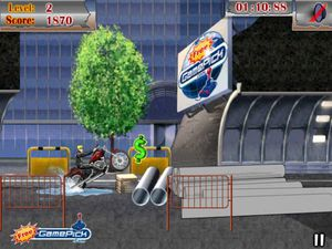 Cycle Commando game - download free full version games for PC