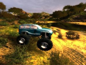 Big Truck Challenge 4x4 screenshot