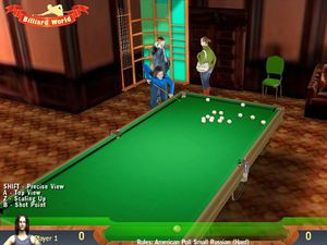 Billiard World screenshot
