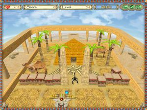 Egyptian Ball screenshot