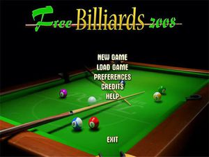 Free Billiards 2008 video