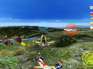 Helicopter Wars screenshot