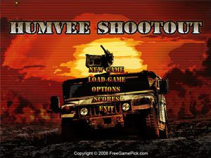 Humvee Shootout video