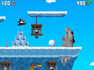 Penguin vs Yeti screenshot