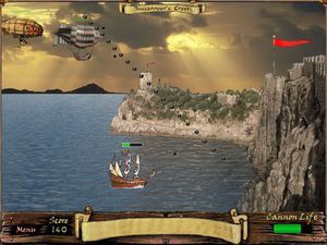Pirate Cliff game - download free full version games for PC