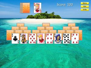 Solitaire Isle screenshot