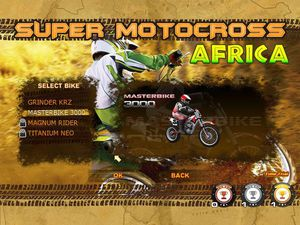 Super Motocross Africa screenshot