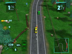 Arcade Race Crash screenshot