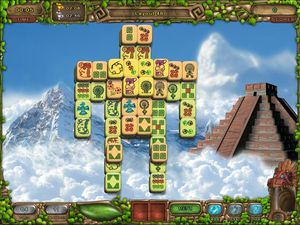 Mahjong Legacy Of Toltecs screenshot