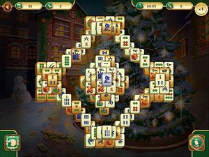 Christmas Mahjong screenshot