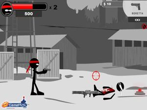 BW Shooter screenshot