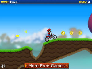 Mario Bike Recharged screenshot