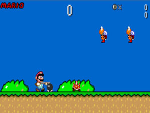 Super Mario Rampage screenshot