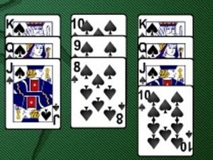 Spider Solitaire screenshot