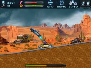 Robo Racing screenshot