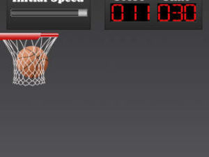 Finger Basketball screenshot